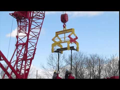Mazzella Lifting Technologies -- Engineered Below-The-Hook Lifter Load Test