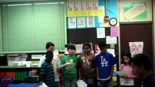 Laurel Elementary Chorus, Oakland, CA, Ms. White's 5th Grade Class-There's Always Talk