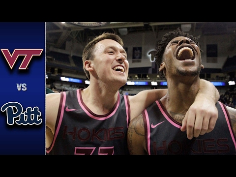 Virginia Tech vs. Pittsburgh Men's Basketball Highlights (2016-17)