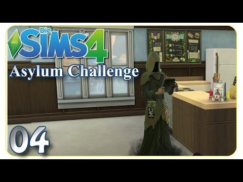 Das erste Todesopfer in der Anstalt ... #04 Die Sims 4 - Asylum Challenge [deutsch]
