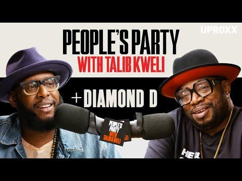 Talib Kweli & Diamond D Talk D.I.T.C., Fat Joe, 'Diam Piece', The BX, And ATCQ | People's Party Full