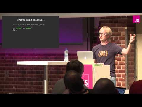 Mathias Bynens: JavaScript ♥ Unicode