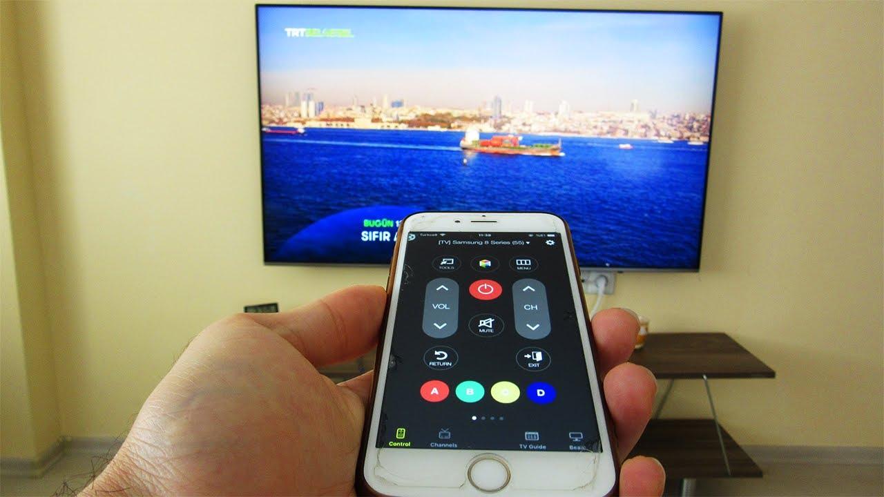 Cep Telefonu Nasıl Tv Kumandası Olur ? - YouTube