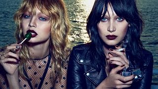 Gigi & Bella Hadid Strip Down For V Magazine Cover & Talk Taylor Swift
