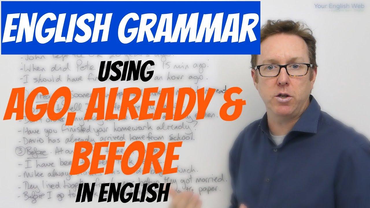 Ago Englisch