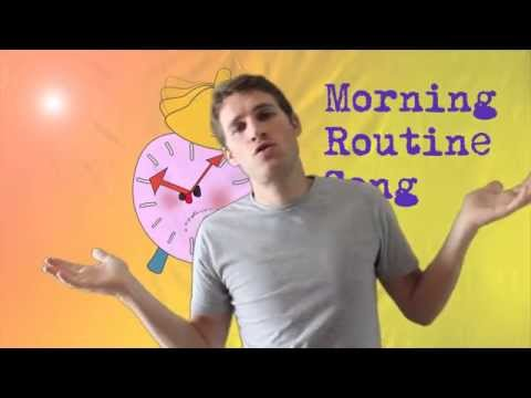Morning Routine | Daily Routine song for kids children | English Through Music