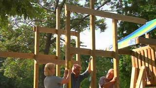 How To Put Together A Backyard Playhouse