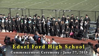 Dearborn public schools. edsel ford high school celebrates it's 76th graduation class at the june 7, 2019, commencement ceremony. part 1: processional - stud...