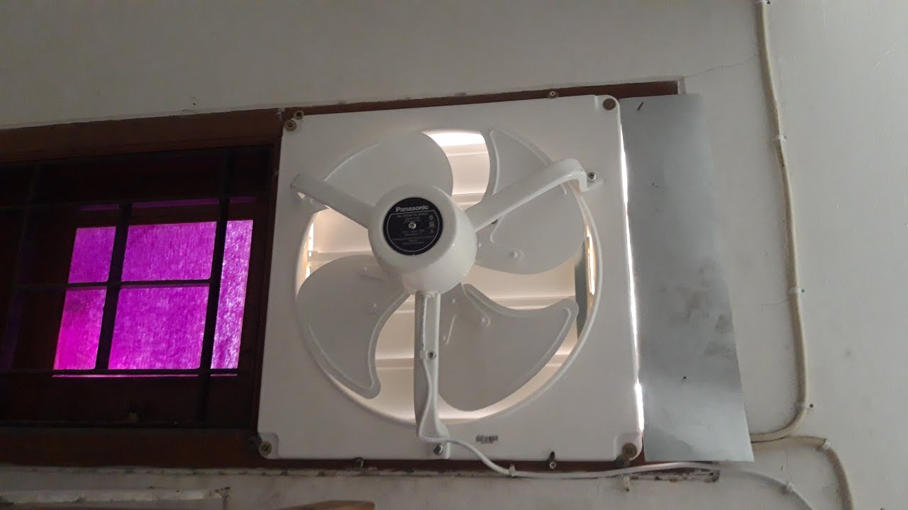 panasonic 16 industrial exhaust fan with shutter