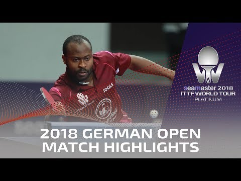 2018 German Open Highlights I Aruna Quadri vs Li Ahmet (Qual)