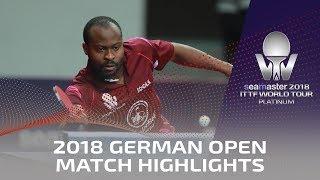 2018 German Open Highlights I Aruna Quadri vs Li Ahmet (Qual)