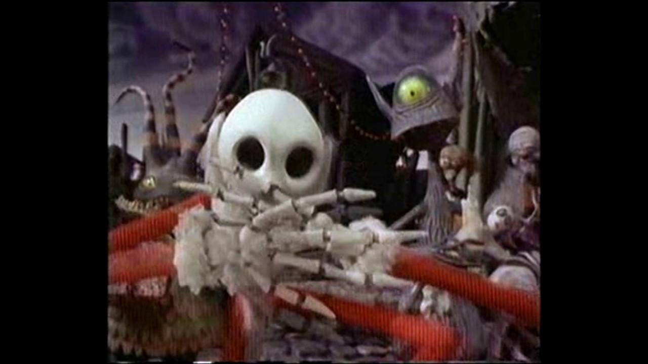 THE NIGHTMARE BEFORE CHRISTMAS VIDEO COMMERCIAL VHS-1080p - YouTube