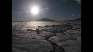 Wschód Księżyca nad Śnieżką w Karpaczu