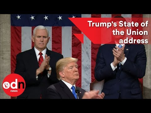 Donald Trump's State of the Union address: what went down