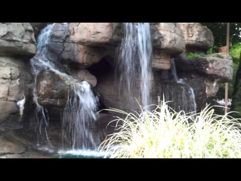 Put-in-Bay- Perrys Cave Waterfall