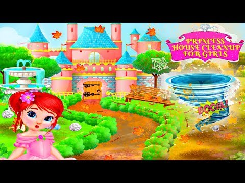 princess-house-cleanup-for-girls:-keep-home-clean---keep-your-house-clean---gameplay-by-magictoons