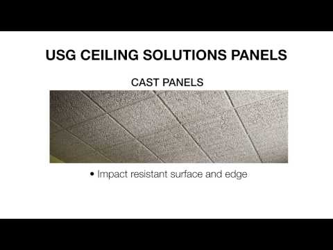 ceilings | ceiling panels & materials | usg