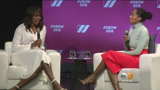 Michelle Obama Delivers Powerful Message At The United State Of Women Summit