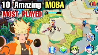 Top 10 Most Pląyed MOBA games Android | Best MOBA Games You Should Play for Android & iOS