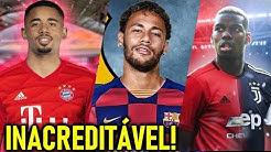 Neymar vai ser do BARÇA em 2020! Gabriel Jesus Bayern - Pogba Juve! - Coutinho longe do barcelona!