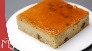 PUDÍN (O BUDÍN)  | Con restos de pan, bizcocho o dulces navideños