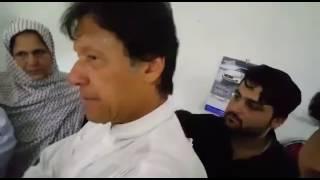 What is Mashal Khan's Mother saying to Imran Khan