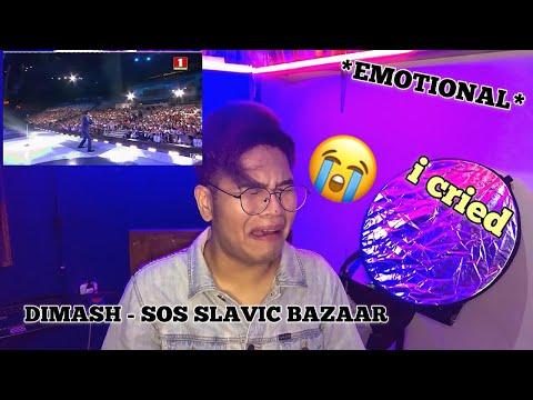 (ENGCC) SINGER, VOCAL COACH, AND ART MASTER REACT TO DIMASH KUDAIBERGEN-SOS SLAVIC BAZAAR *I CRIED*