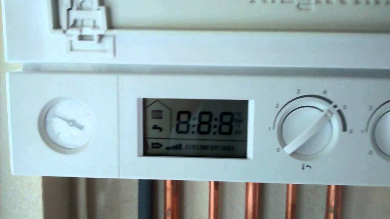 How to reset a Viessmann boiler - YouTube