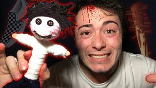 DO NOT USE A REAL LIFE VOODOO DOLL AT 3:00 AM | THIS IS WHY | HAUNTED VOODOO DOLL 3 AM CHALLENGE!