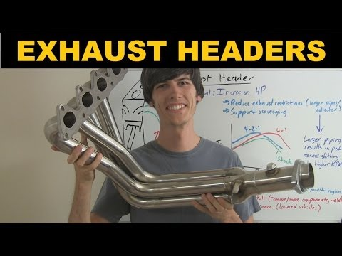 Exhaust Header - Explained - YouTube