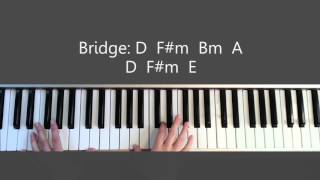 Good Good Father - Christ Tomlin / Housefires Piano Tutorial and Chords