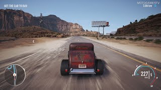 """Need for Speed Payback - Ford Roadster """"Halloween"""" Abandoned Car - Location and Gameplay"""
