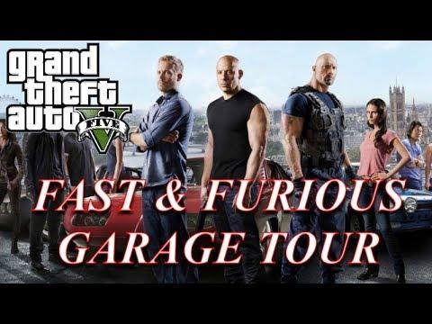 GTA 5: Fast & Furious 31 Car Garage Tour