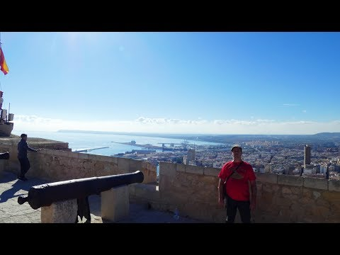 Alicante in January. Spain Travel video