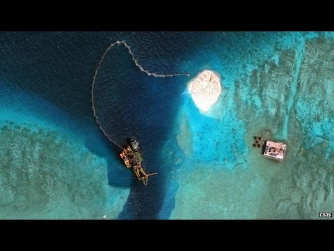 China 'building runway in disputed South China Sea island'