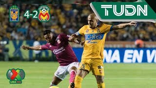 Resumen Tigres 4 - 2 Morelia | Liga MX - Ap19 | TUDN México