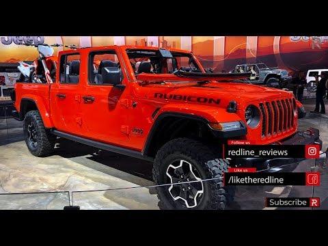 2020 Jeep Gladiator – Redline: First Look – 2018 LA Auto ...
