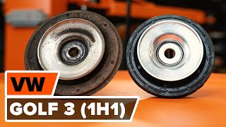 Come cambiare Braccio trasversale VW GOLF III (1H1) - video tutorial