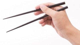 DE JuN 教你如何正確使用筷子!