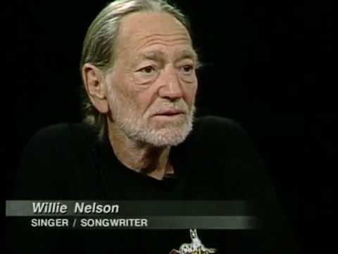 Willie Nelson Job İnterview On Charlie Rose 1999 & Wilt Chamberlain Conan 19970212