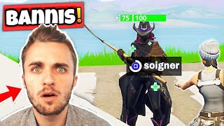 7 YouTubeurs Fortnite Surpris Entrain De TRICHER En Plein Live !