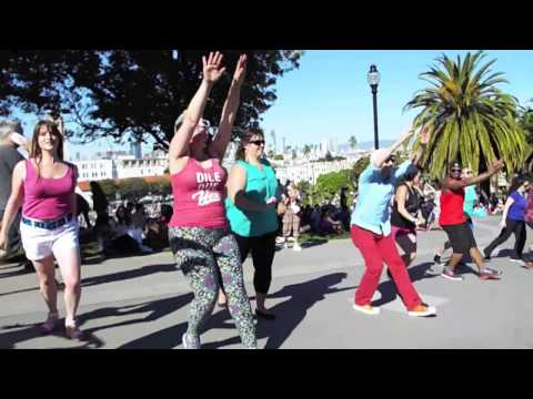 International Rueda de Casino Flash Mob Day 2017 - San Francisco, USA - Rueda Con Ritmo