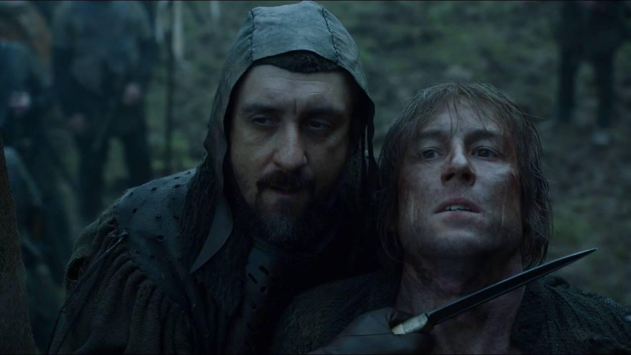 Download Jaime Lannister slaps one of the Freys holding Edmure hostage