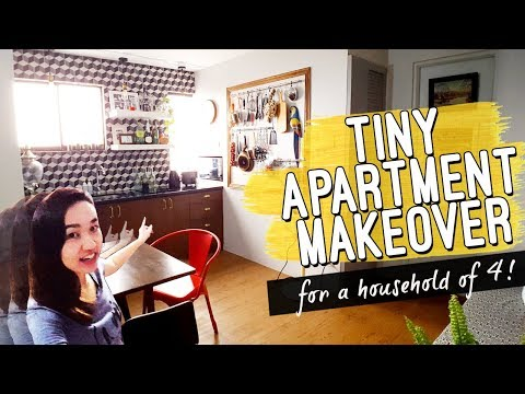 Studio Apartment Unit EXTREME MAKEOVER Philippines // Vintage Inspired // by Elle Uy