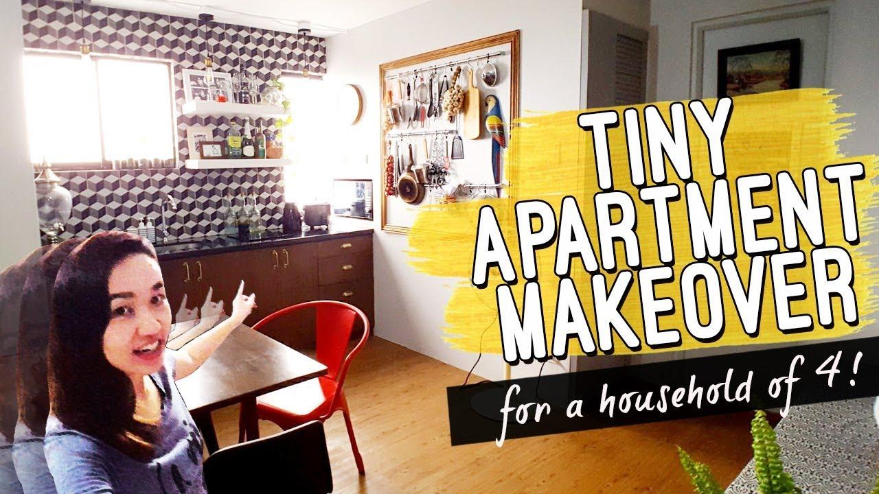 Studio Apartment Unit Extreme Makeover Philippines Vintage - Interior-design-apartment