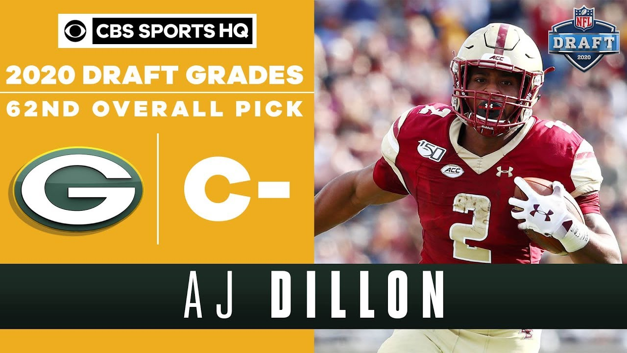 2020 NFL Draft: Packers select Boston College RB AJ Dillon in ...