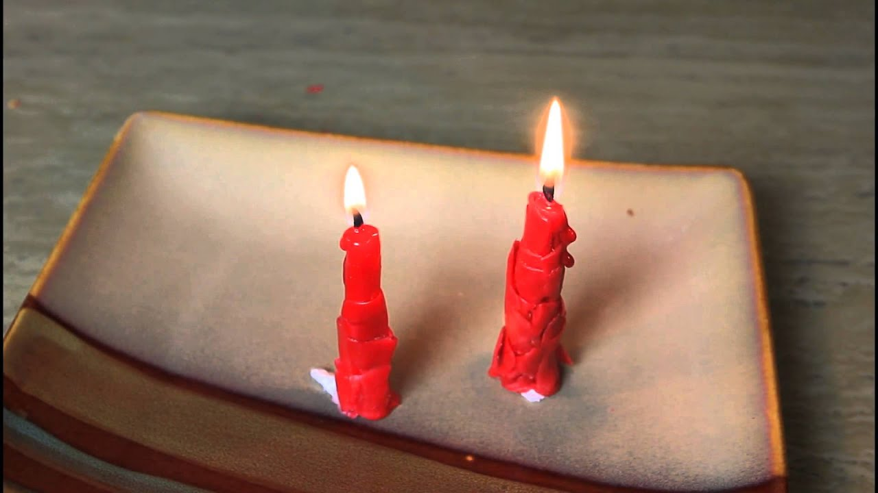 Emergency Candle Out Of Cheese Wax