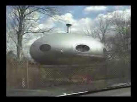 Alien House Spaceship of Cincinnati