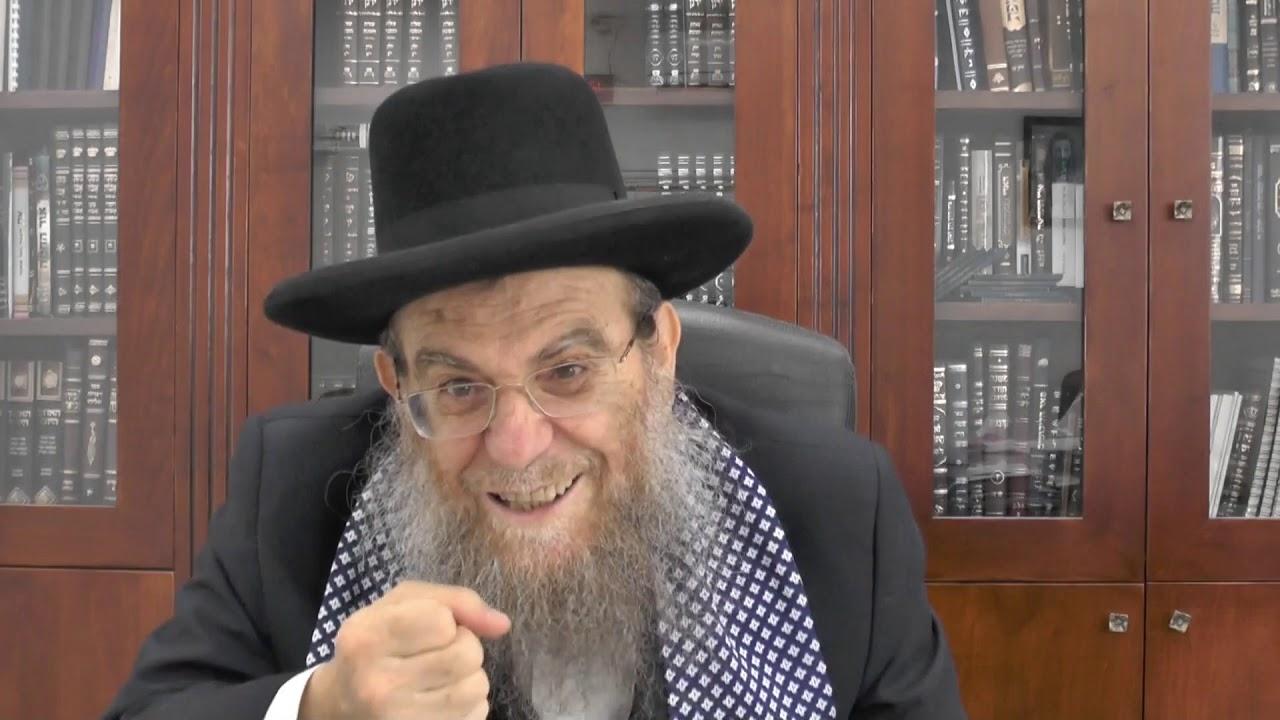 """הגאון הגדול הרב יצחק ברדא שליט""""א - ערב חג הסוכות"""