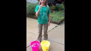 The Ice Bucket Challenge! {Pony Girls}